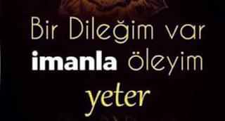ŞEHİD DUASI