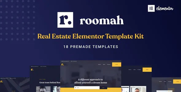 Real Estate Agent Elementor Template Kit