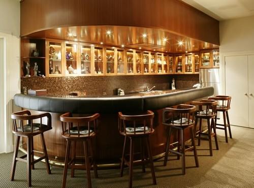 Moderne Woning Ideeën: Huis Bar Ontwerpen