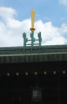絵馬殿屋根の装飾
