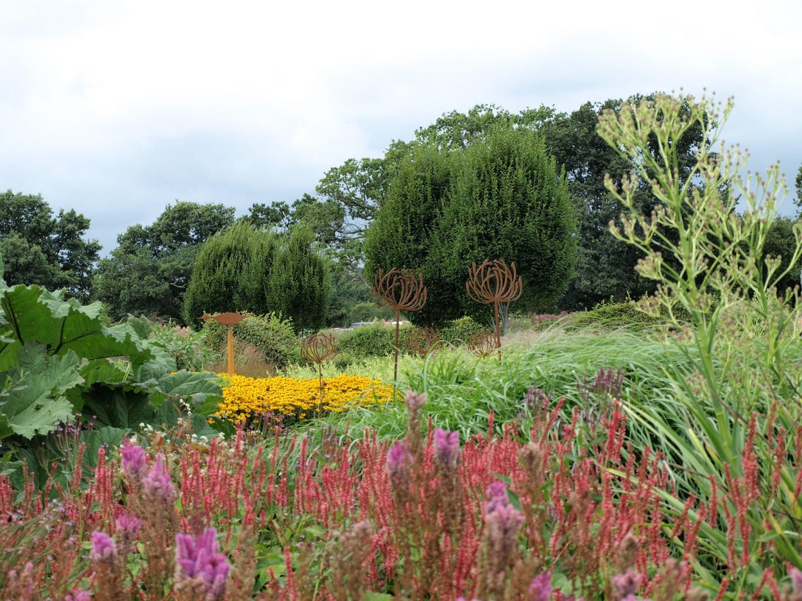 Trädgård i torslanda: sussex prairie garden; england