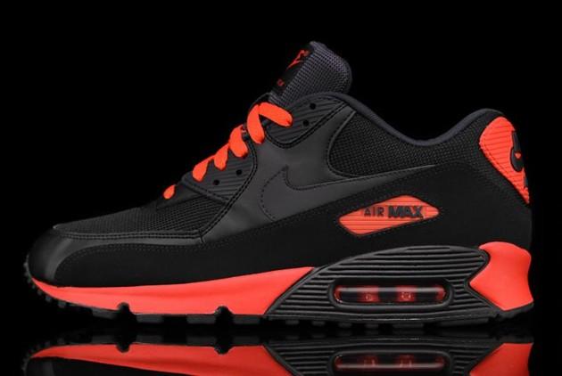bc1af062ba5 BtB gTf XxX  Kix  Nike Air Max 90 Essential – Black Red