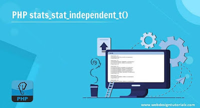 PHP stats_stat_independent_t() Function