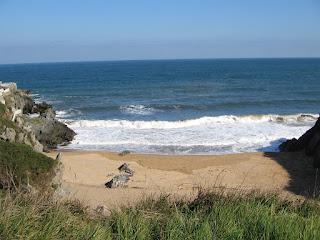 Playa en Candás (Asturias, España)