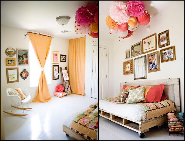 Charming Little Girls Room Design with Fascinating Arrangement