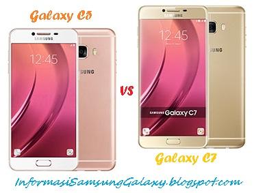 Harga dan Spesifikasi Samsung Galaxy C5 vs C7