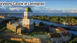 Vyborg Castle in Leningrad