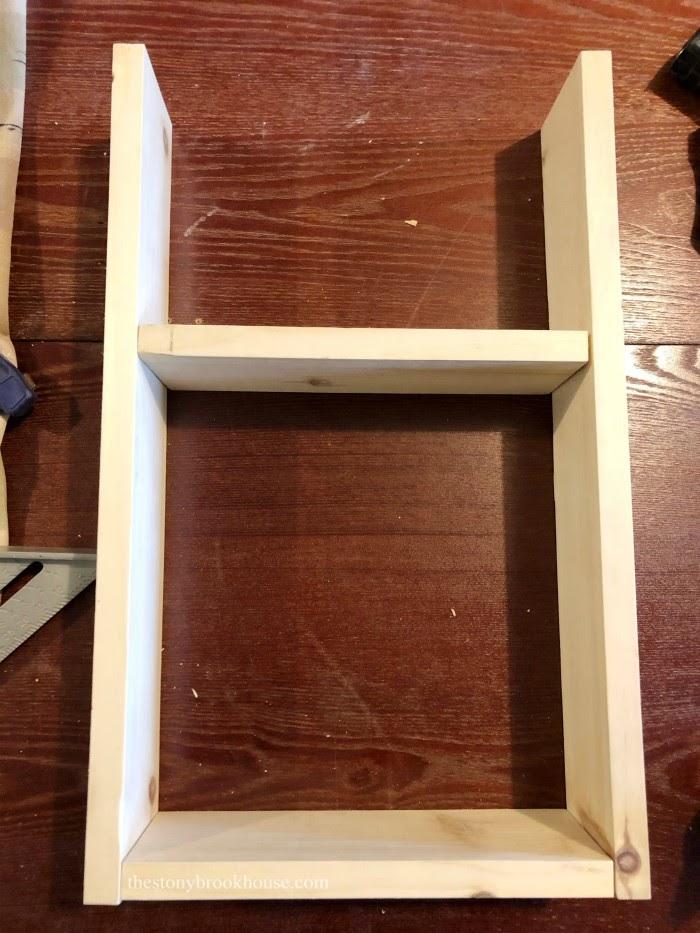 shelf organizer wood