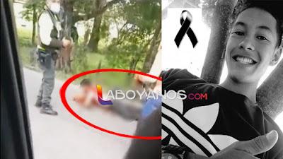 VIDEO: Policía de Tránsito mató a joven motociclista porque no paró en un retén