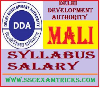 DDA Mali Syllabus