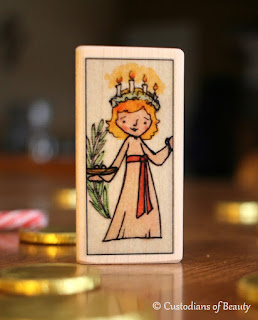 Feast of St. Lucy | by CustodiansofBeauty.blogspot.com