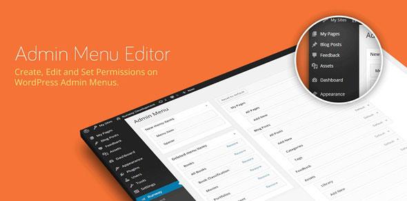 Admin Menu Editor Pro v2.11 Download