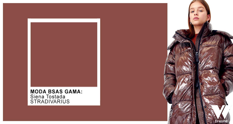 Siena tostada colores de moda otoño invierno 2021