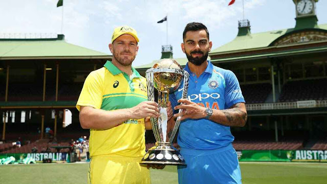India vs Australia Live Streaming Watch ICC World Cup 2019