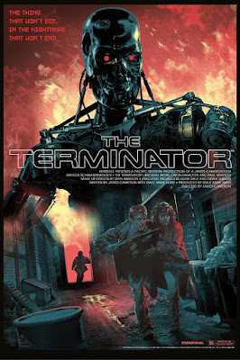 The Terminator Tech-Noir Ultra Variant Screen Print by Stan & Vince x DaVinci's Dreams