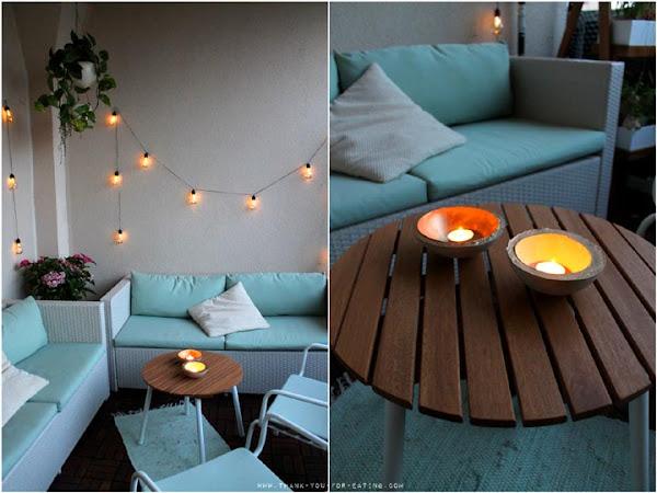 [Werbung] Schalen aus Beton für den Balkon | DIY
