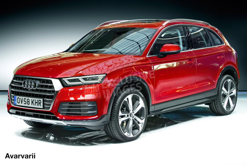 foto nuova audi q5 2017 immagini q5 base business sport e design dmotori it. Black Bedroom Furniture Sets. Home Design Ideas
