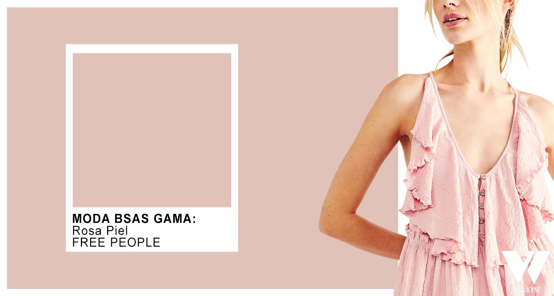 rosa color de moda verano 2022