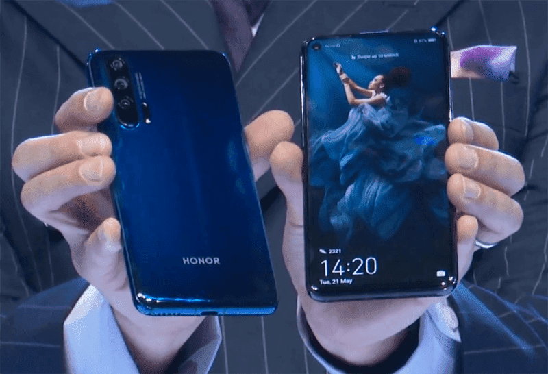Honor 20 Pro now Google Play certified, global launch expected