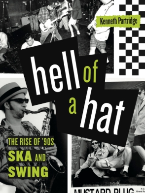 The book cover features various ska bands performing or posing for promotional photos.