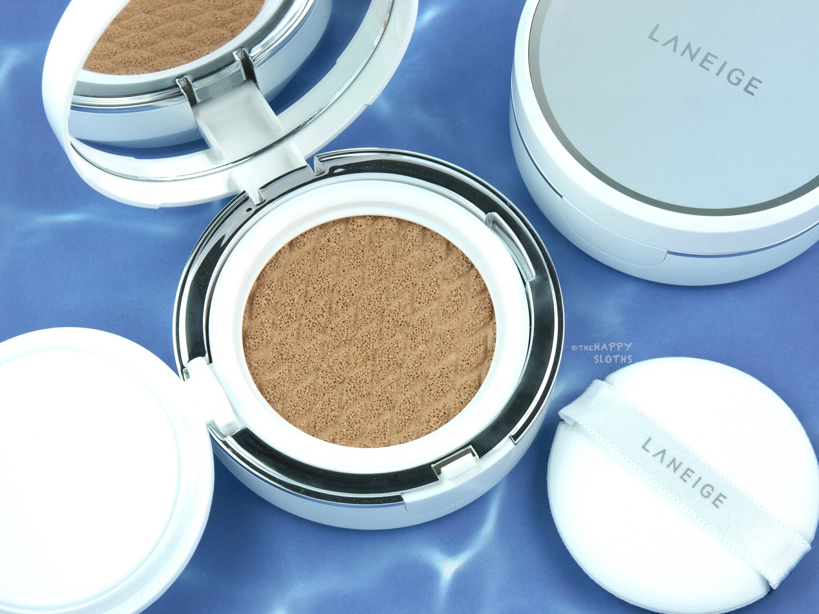 LANEIGE | BB Cushion Hydra Radiance SPF 50 | No. 21 Beige: Review and Swatches