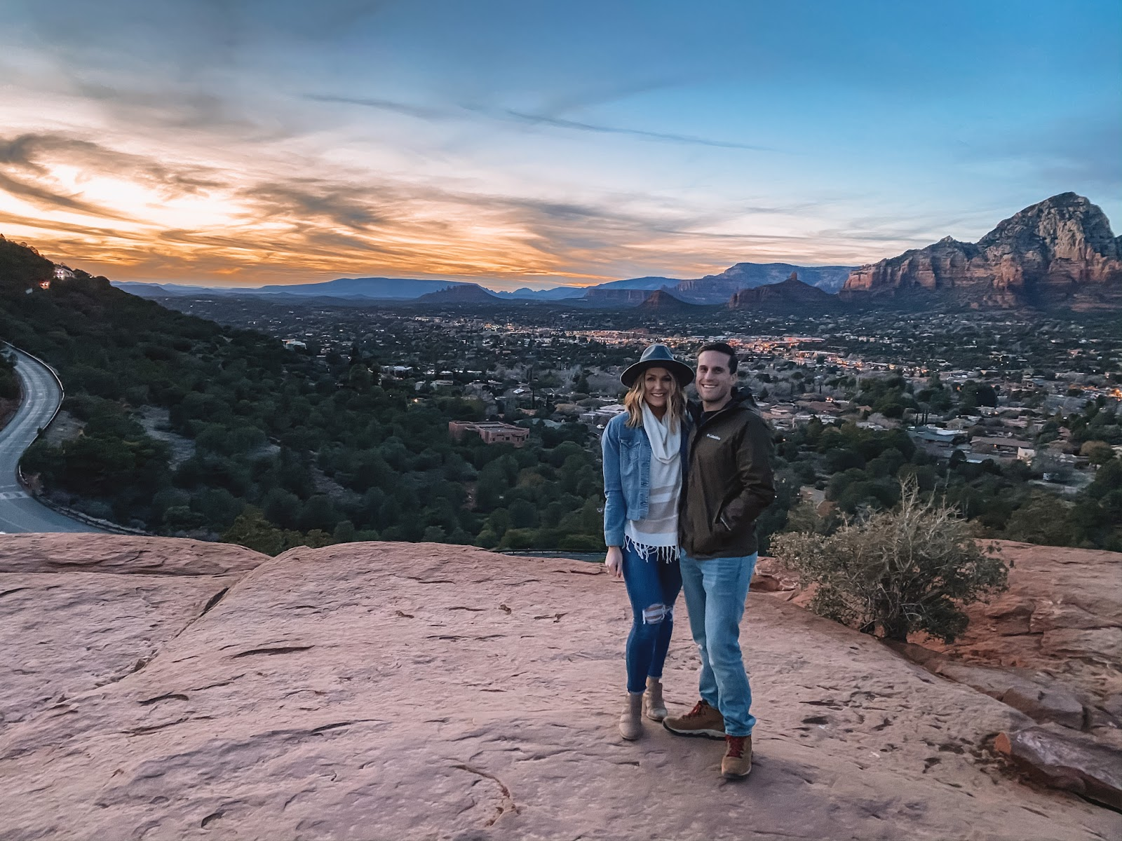 airport mesa is the best place to watch the sunset in sedona