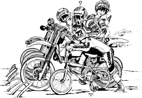 BMX Old School Merida: El Arte de Bob Haro III