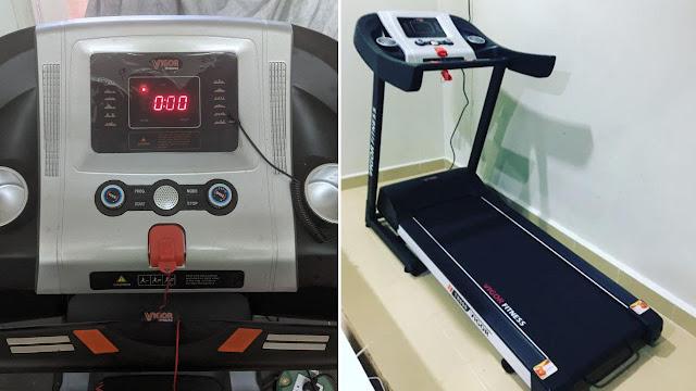 Treadmill Vigor TR600 Harga Bawah RM1000 Sesuai Untuk Bersenam Dirumah