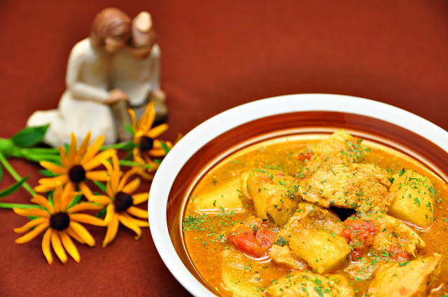 Goan Chicken Curry Yellow