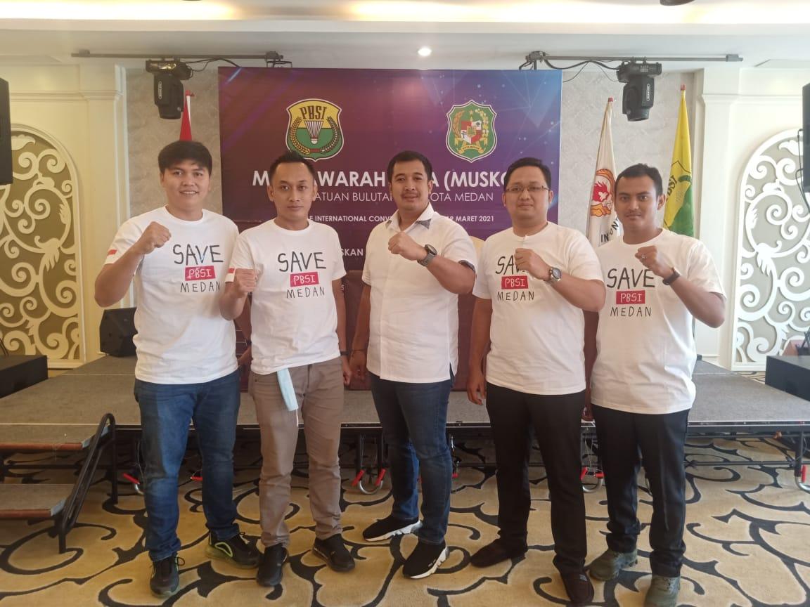 Ketua PBSI Kota Medan 2021
