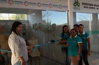 Inaugurada Lojinha da INCOSOL no campus de Cuité da UFCG