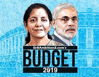 Nirmala Sitharaman Union Budget 2019 Pdf