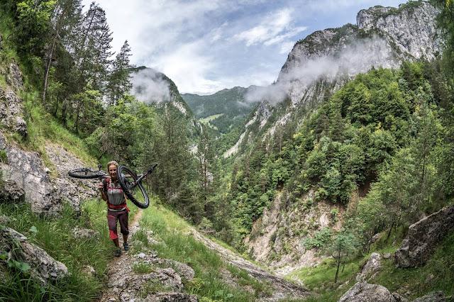 Mountianbike Tour MTB Trail Monte Brizzia Udine Friaul
