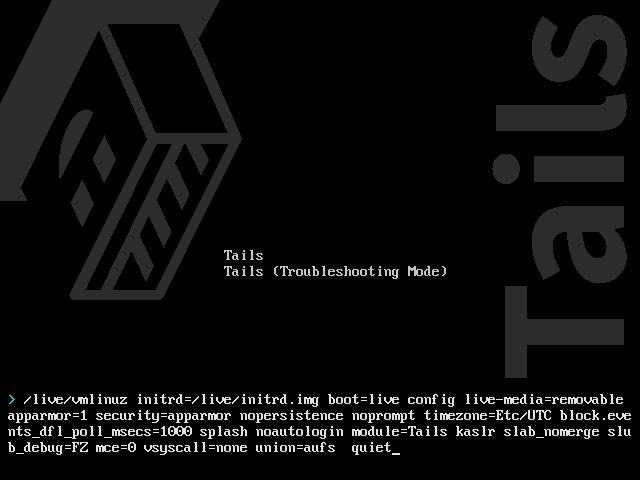 Error instalar Tails - USB