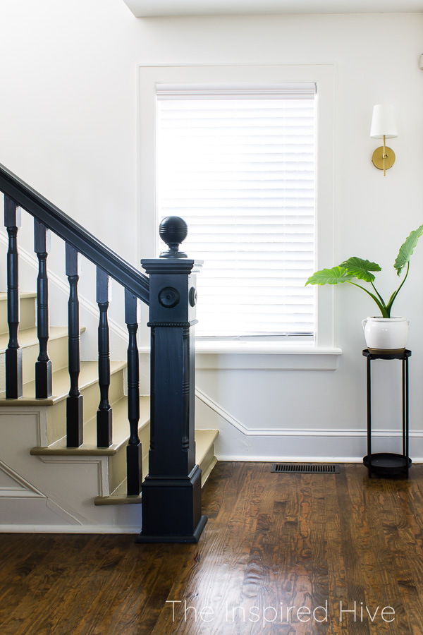 Black historic staircase