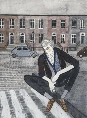 art by Yelena Bryksenkova   creative emotional illustration art drawings, pictures, deep feelings, sad   imagenes bellas, emociones sentimientos