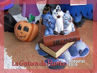 Gato Hogueras 2016 Alicante