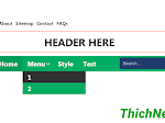 Navigation menu đẹp cho Blogspot