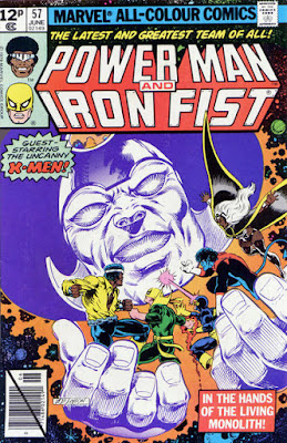 Power Man and Iron Fist #57, the Living Monolith