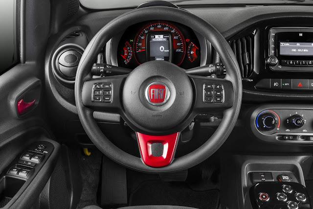 Novo Fiat Uno 2017 Sporting Dualogic automatizado - interior