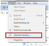 Eclipse and Javadoc with PDF Generation ~ l3oc