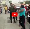 TITUUUAAA!! (VIDEO) Mujer agrede agente de la Digesett porque le ordenó parar por uso de casco protector