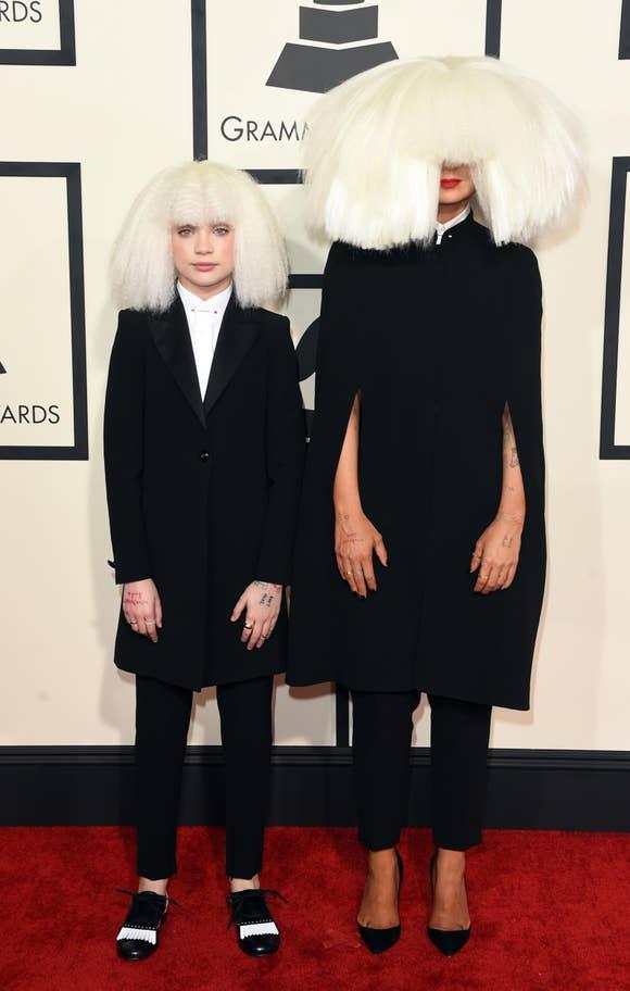 Sia with dancer Maddie Ziegler (2015)