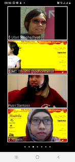 Foto ultah fbb komunitas blogger perempuan
