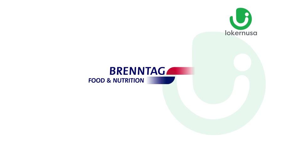 Lowongan Kerja PT. Brenntag (Distributor food ingredients)
