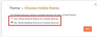Cara atur tampilan blog mobile friendly