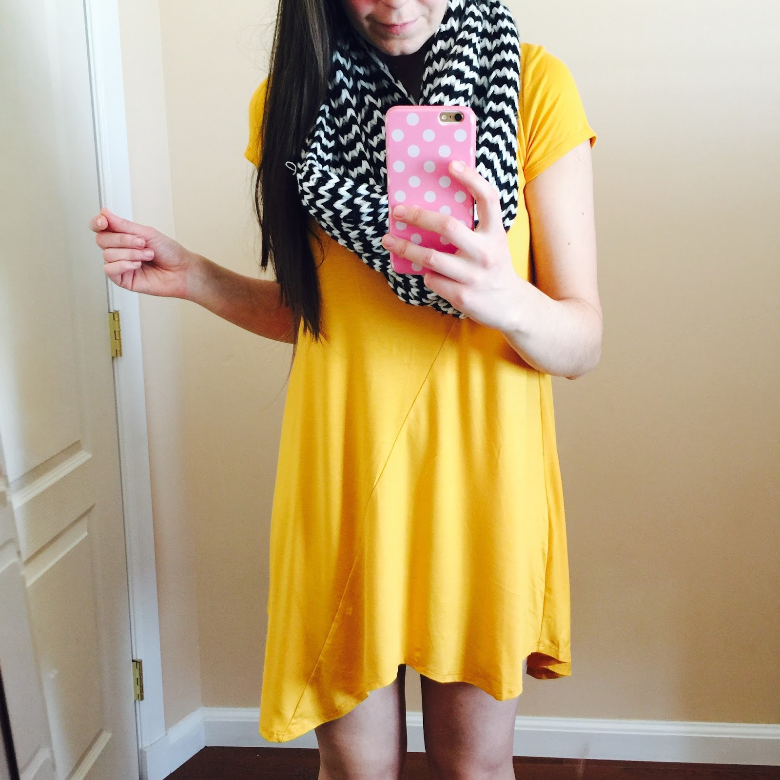 kbtrends, mustard jersey dress, mustard jersey dress from kbtrends review, dress review, cute,