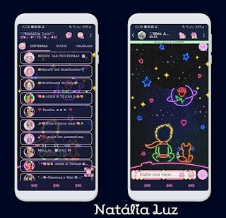 Night Mod Theme For YOWhatsApp & RA WhatsApp By Natalia Luz