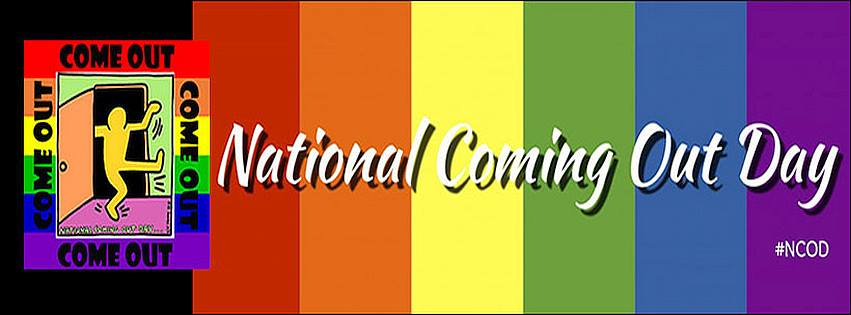 National Coming Out Day Wishes Unique Image