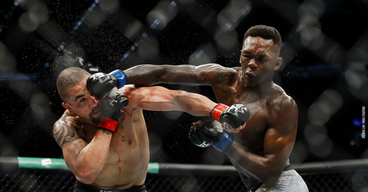 Nigerias Isreal Adesanya Becomes UFC Middleweight